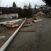 NCS Fluid Handling Systems dewatering tank in British Columbia