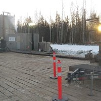 Onsite in northern Alberta