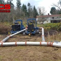 Industrial Sewer Bypass work