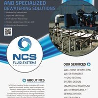 NCS Fluid Handling Systems leaders in Dewatering