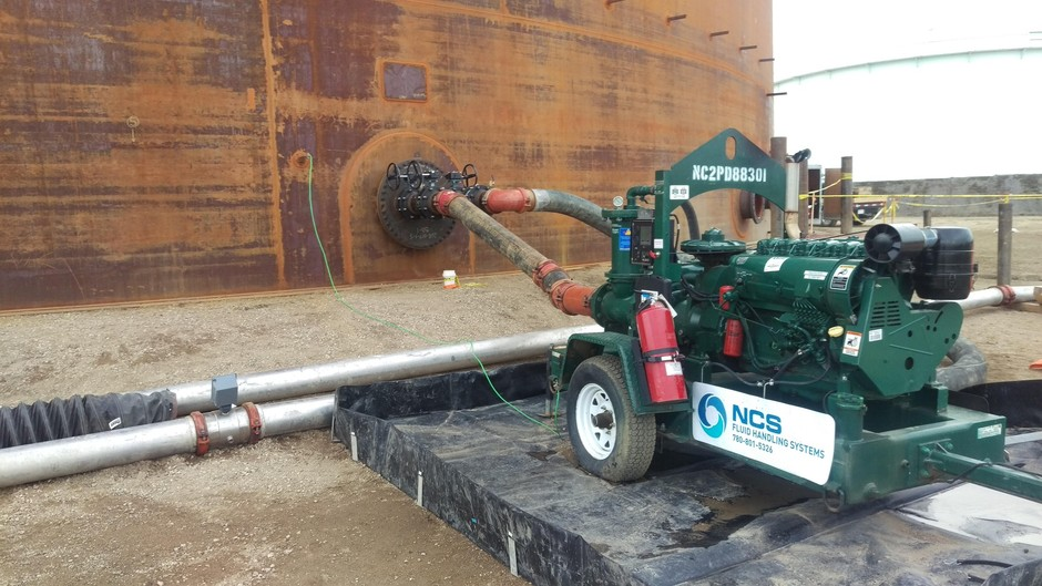 Tank Hydro-testing Services | NCS Fluid Handling Systems