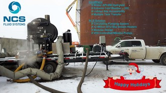 Holiday season Wishes from the Entire NCS Fluid Systems Team