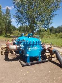NCS Fluid Handling Systems Custom Filtration System