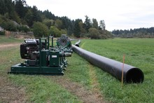 Well Pointing Dewatering and HDPE pipe installation