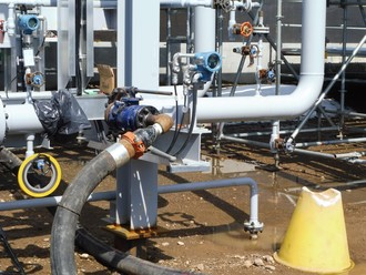 NCS Fluid Handling Systems process piping pressure testing